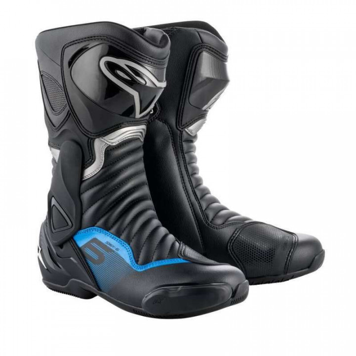 Bottes moto Alpinestars SMX 6 V2 Bleu