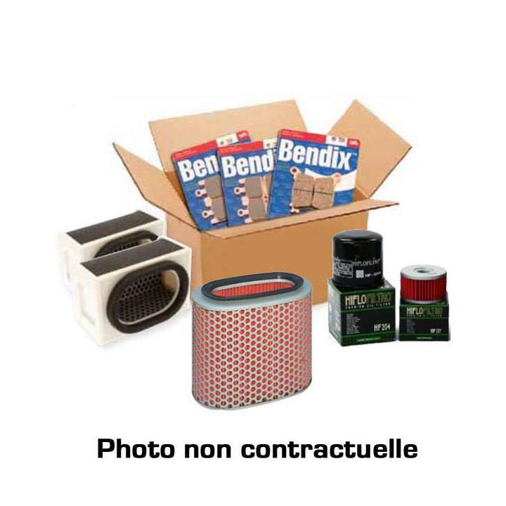 Pack révision filtres Hiflofiltro + plaquettes Bendix Honda GL1800 GOLDWING