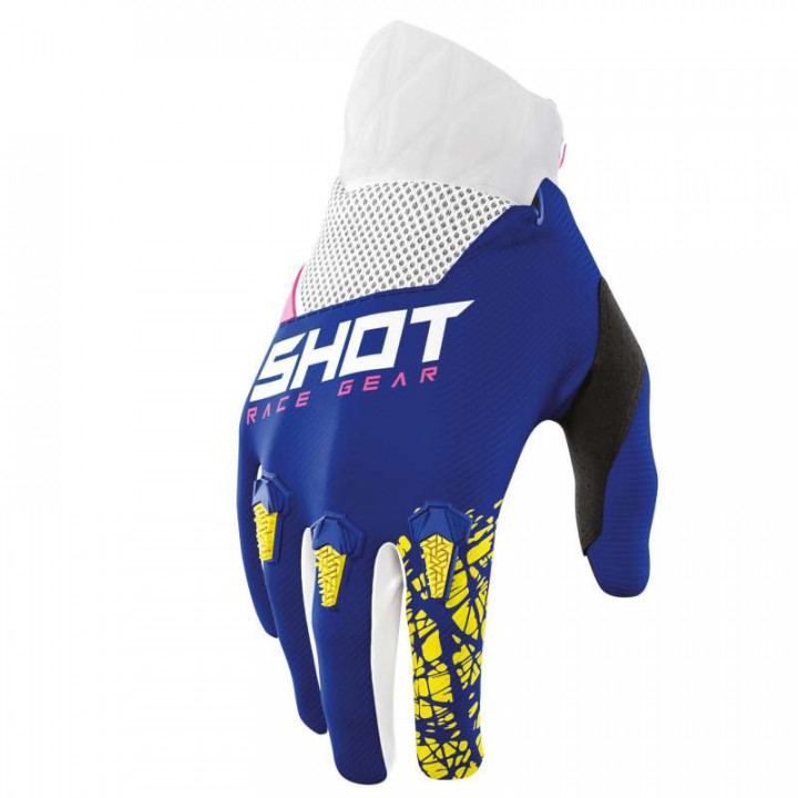 Gants moto cross Shot DEVO STORM 2021 NAVY