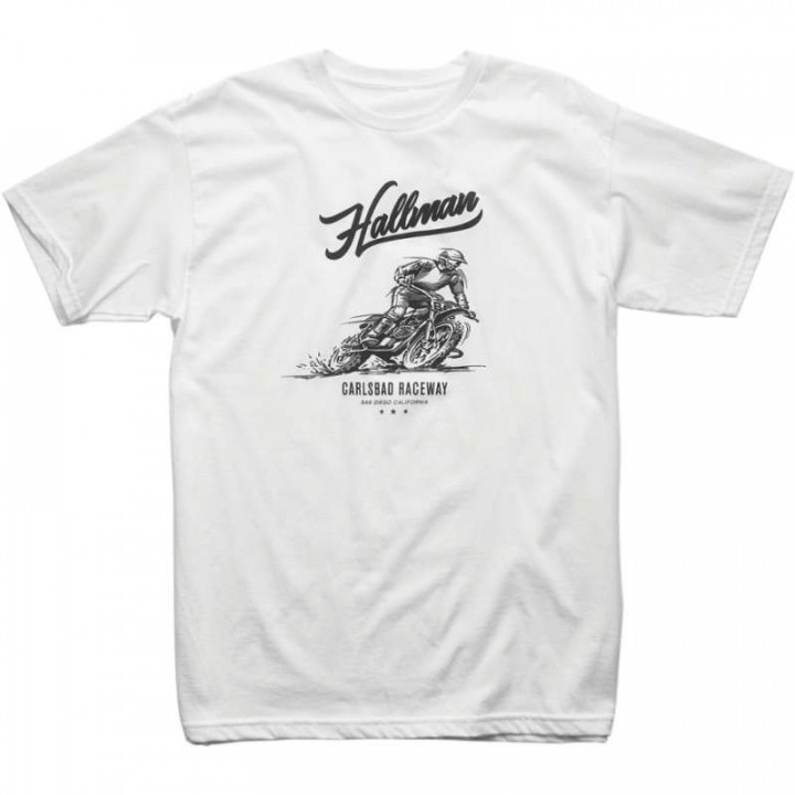 Tee-Shirt Thor HALLMAN 2019 CARLSBAD WHITE