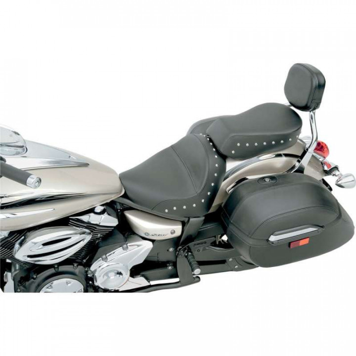 Selle confort Saddlemen RENEGADE DELUXE SOLO STUDDED Yamaha XVS950 09-13
