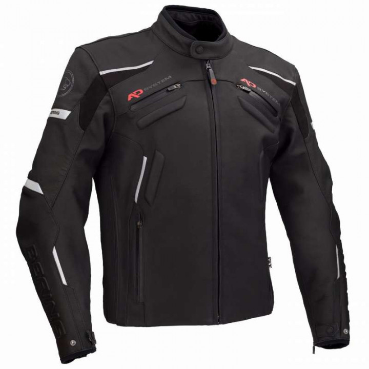 Blouson moto cuir Bering HANSON
