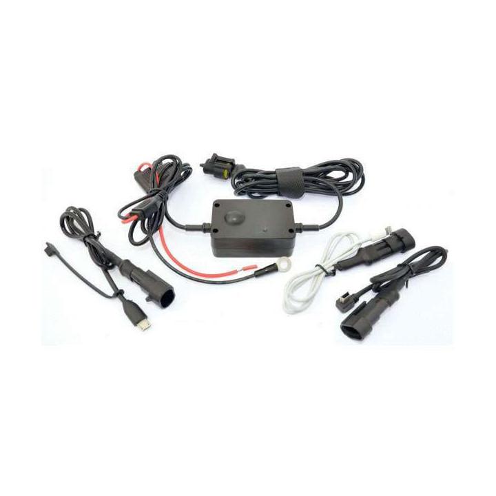 Kit alimentation universelle GPS & smartphone TG CHARGEUR