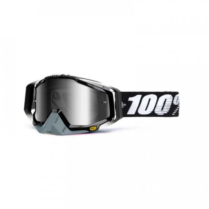 Masque moto cross 100% RACECRAFT ABYSS BLACK IRIDIUM