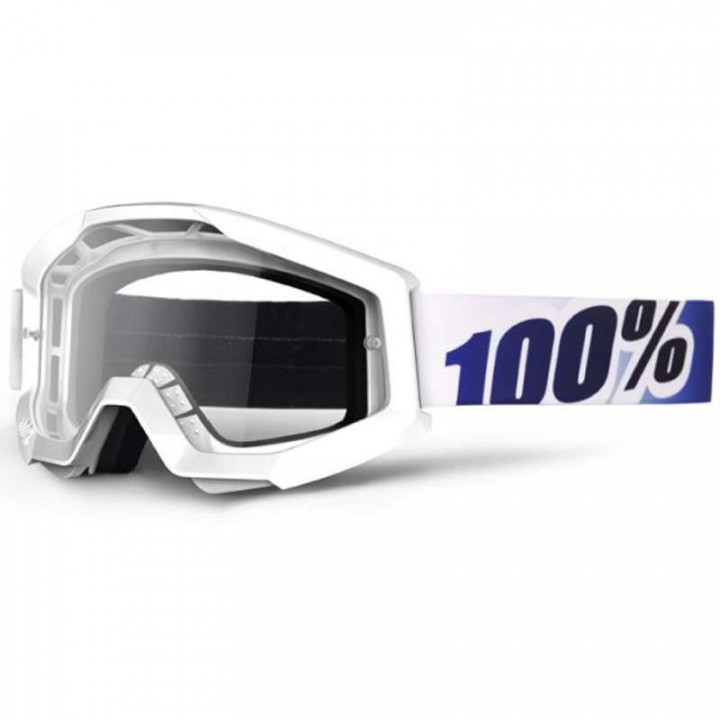 Masque moto cross 100% STRATA ICE AGE