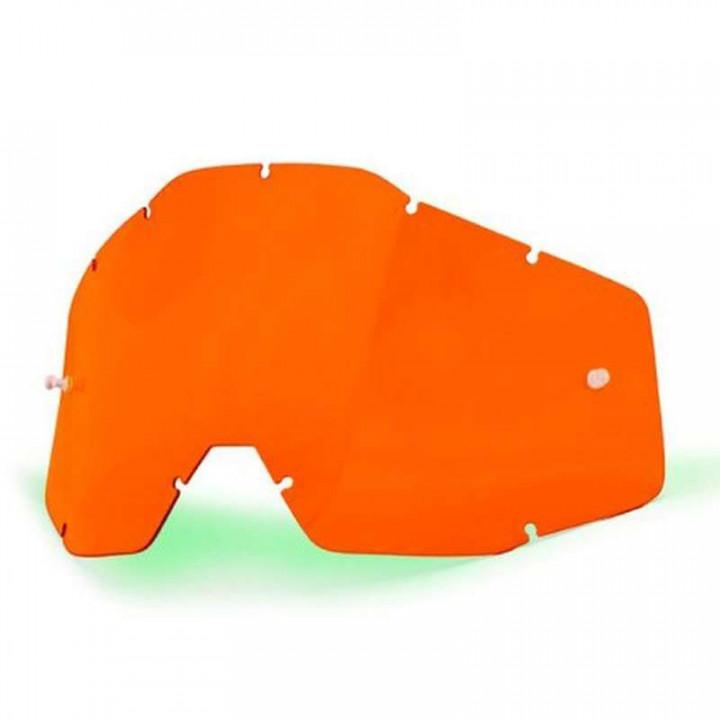 Écran Orange pour masques 100% RACECRAFT, ACCURI et STRATA