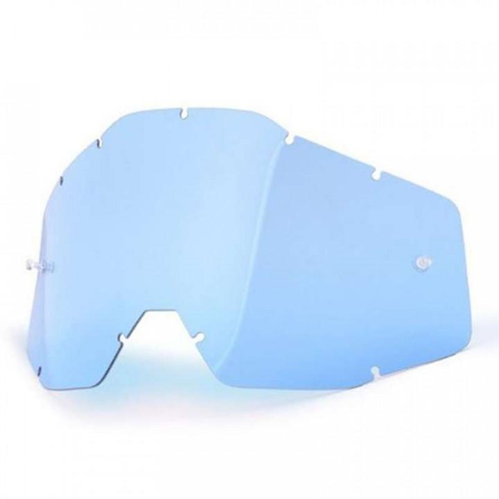 Écran bleu pour masques 100% RACECRAFT, ACCURI et STRATA