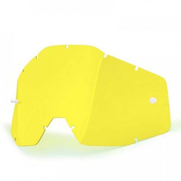 Écran jaune pour masques 100% RACECRAFT, ACCURI et STRATA
