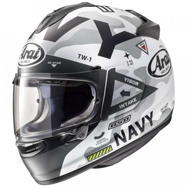 Casque moto Arai CHASER-X NAVY WHITE