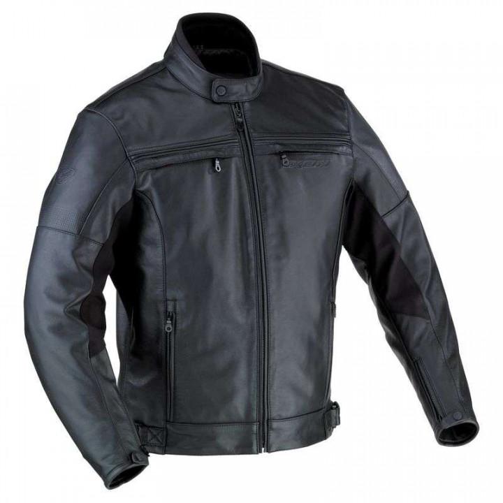 Blouson moto cuir Ixon COPPER ROCK C Grandes Tailles