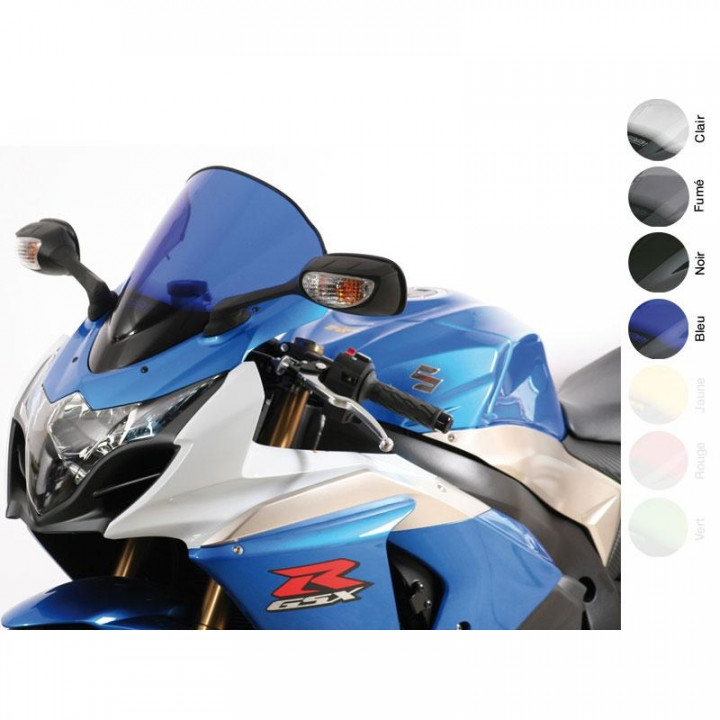 Bulle MRA Racing Fume Pour Suzuki Gsxr1000 09