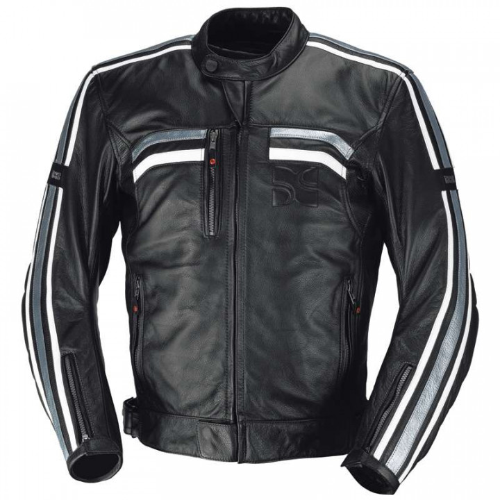 Blouson moto cuir IXS EDWIN