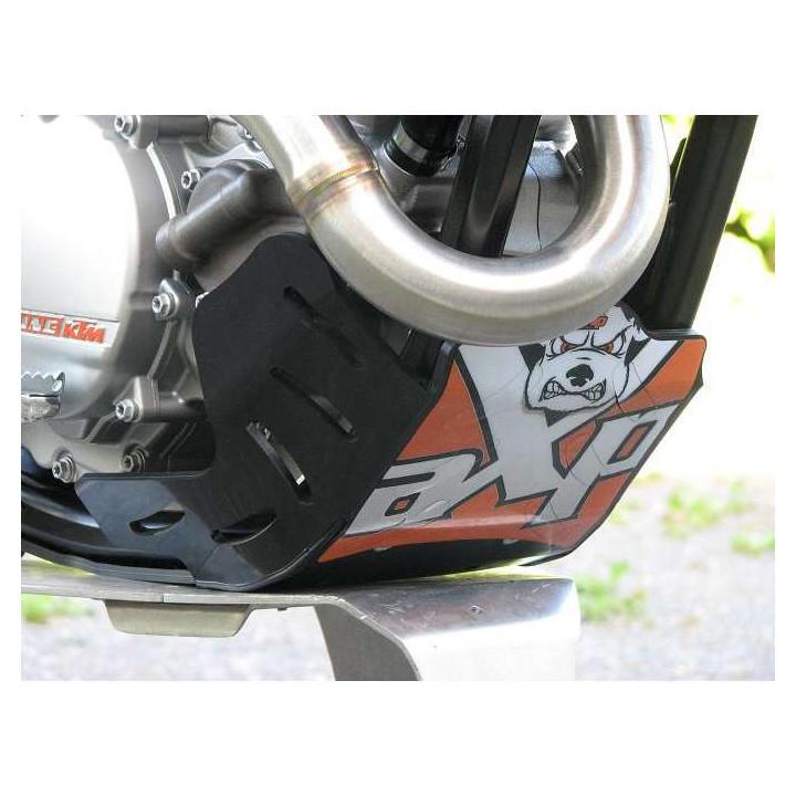 Sabot moteur AXP GP PHD 6mm Noir KTM SXF 250 08-10