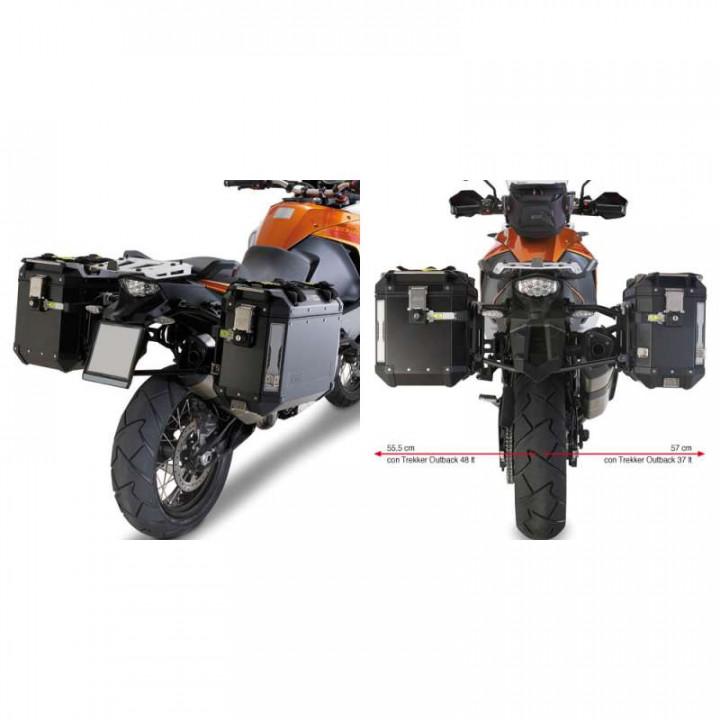 Support valises Givi MONOKEY CAM-SIDE (PL7705CAM) KTM 1050/1190/1290 ADVENTURE