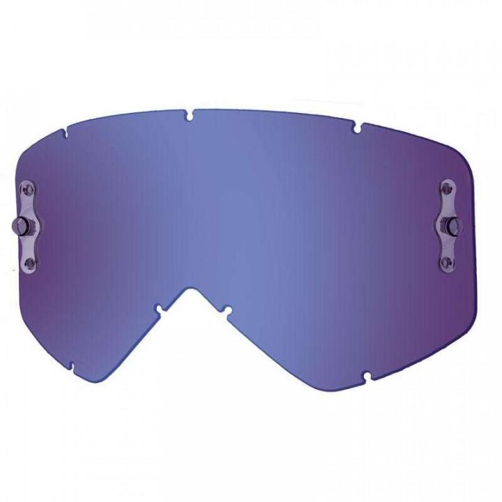 Écran Miroir Bleu pour masques Smith Optics