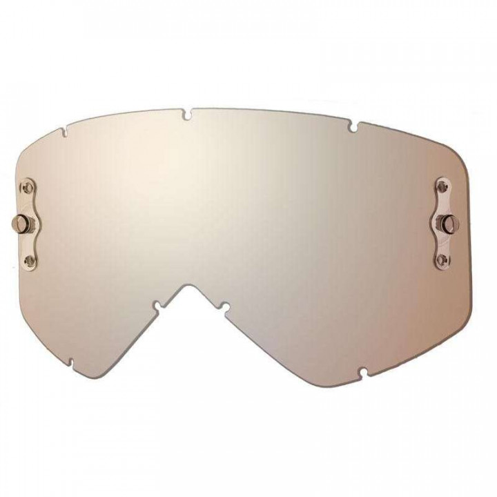 Écran Miroir Platinium pour masques Smith Optics