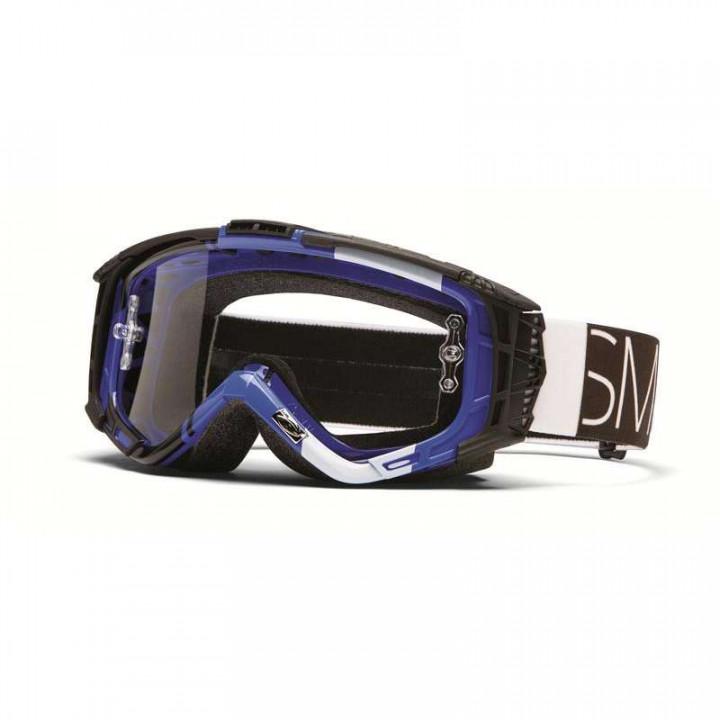 Masque cross Smith Optics INTAKE SWEAT-X BLUE BLOCKHEAD