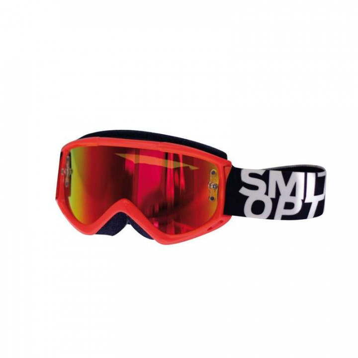 Masque Tout Terrain Smith Optics FUEL V.1 MAX ORANGE IRIDIUM