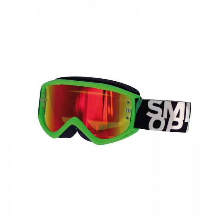 Masque Tout Terrain Smith Optics FUEL V.1 MAX VERT IRIDIUM