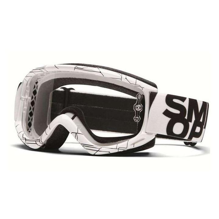 Masque Tout Terrain Smith Optics FUEL V.1 MAX WHITE DIGITAL