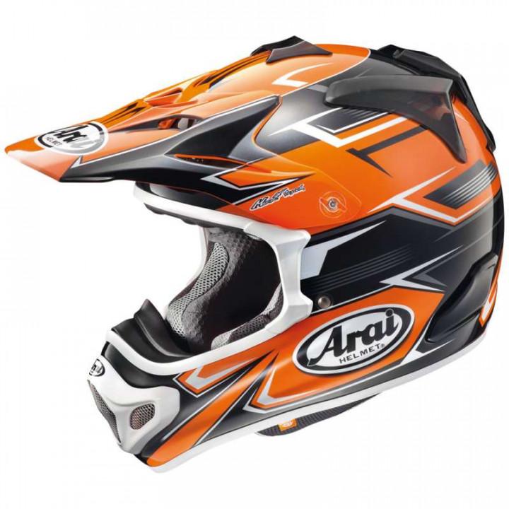 Casque moto Cross Arai MX-V SLY ORANGE