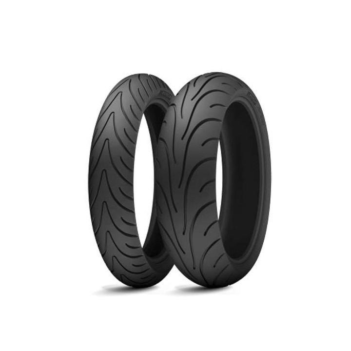 Pneu arrière Michelin PILOT ROAD 2 180/55ZR17 73W