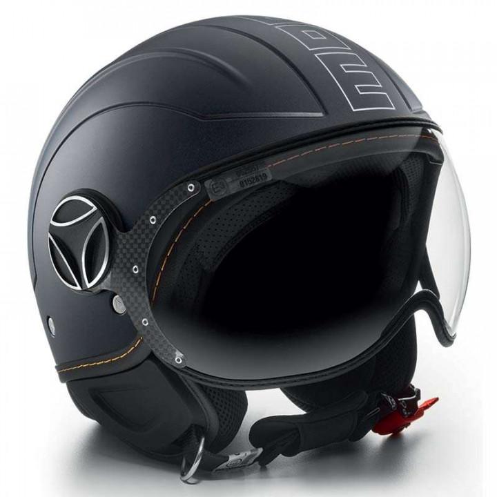 Casque moto Momo Design AVIO PRO Noir mat