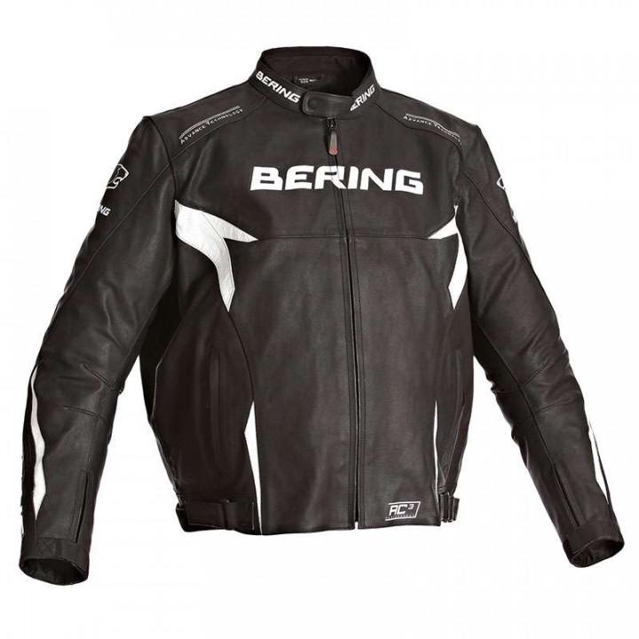Blouson moto cuir Bering FIZIO