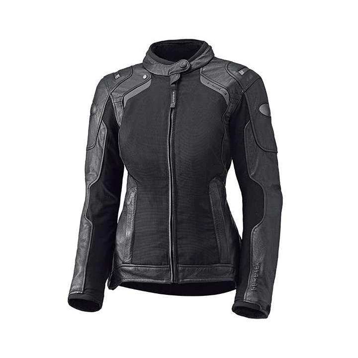 Blouson moto textile femme