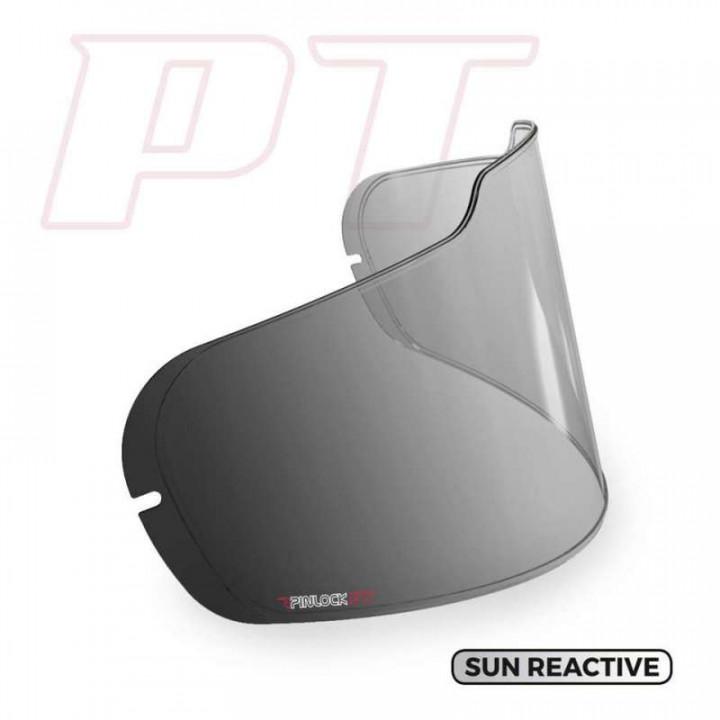 Lentille Pinlock photochromique pour écran ARAI type SAI