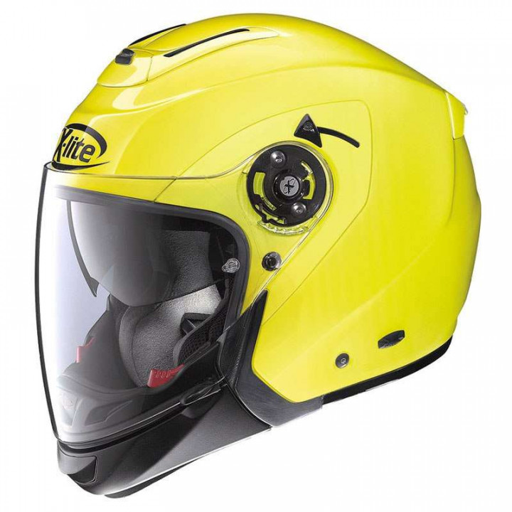 Casque moto X-Lite X403 GT HI-VISIBILITY N-COM