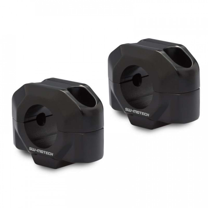 Rehausseur universel pour guidon 28mm SW-Motech +20mm