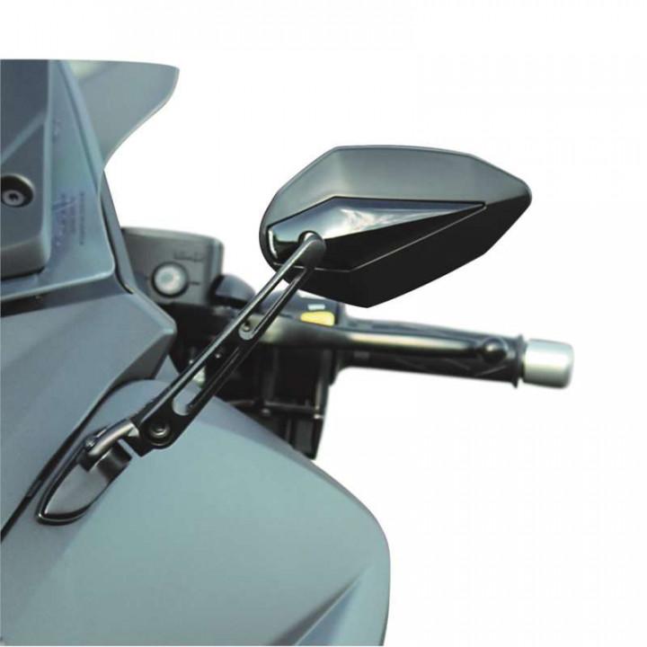 Rétroviseurs moto Chaft ONLY T-Max 530 12-17 Noir