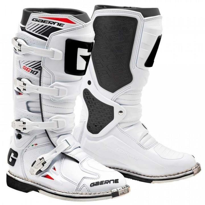Bottes cross Gaerne SG10 Blanc