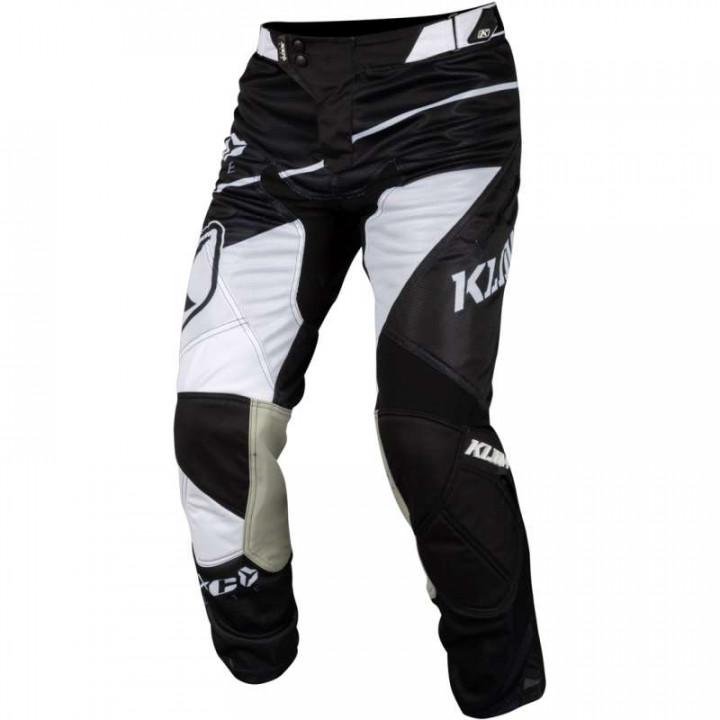 Pantalon cross KLIM XC LITE 2019 Noir/Blanc