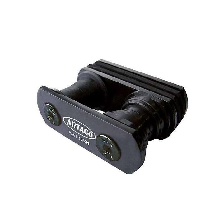 Support bloque disque moto ARTAGO 568/B (tube carré)