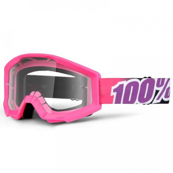 Masque moto cross 100% STRATA BUBBLE GUM